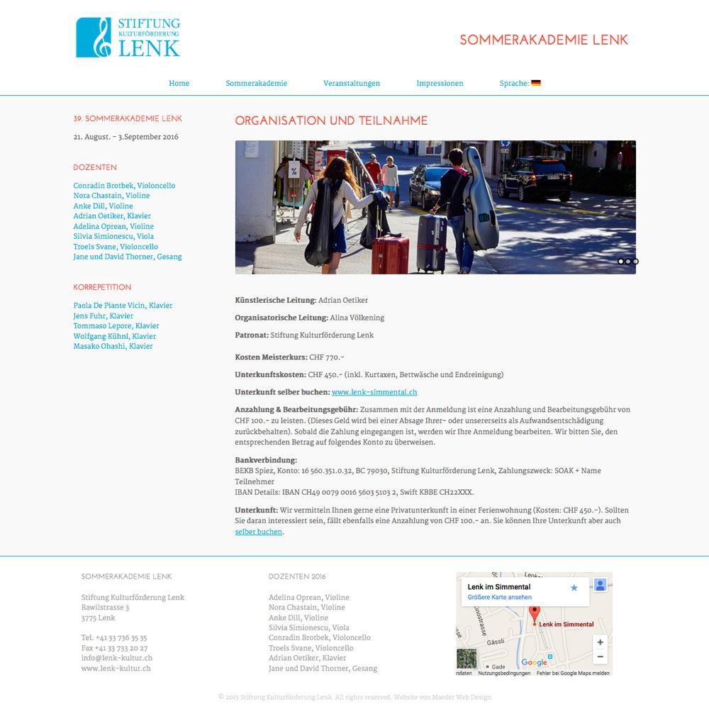 SommerAkademie-Lenk.com