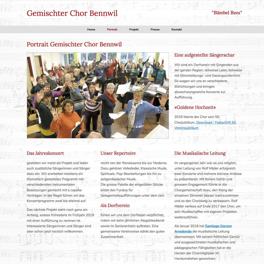 GemischterChor-Bennwil.com