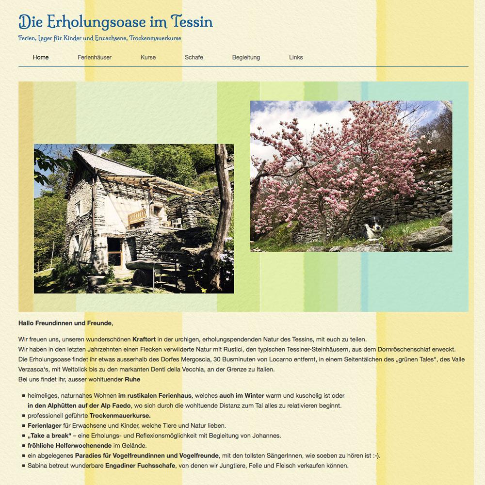 Erholungsoase-Tessin.ch
