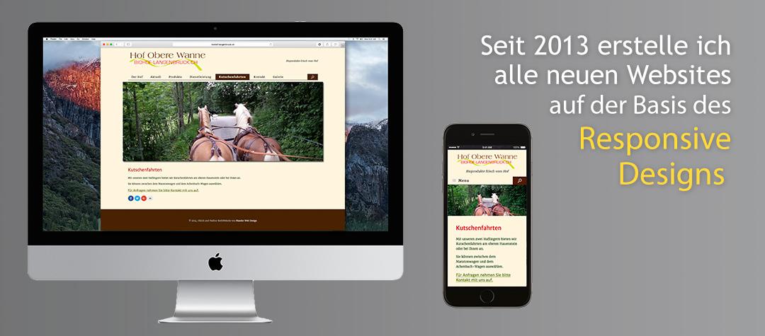 Responsive Web Design von MaederWebDesign.ch